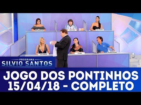 Jogo dos Pontinhos - Completo | Programa Silvio Santos (15/04/18)