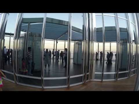 Burj Khalifa Dubai - Observation Deck - At The Top
