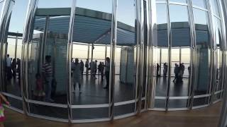 Burj Khalifa Dubai - Observation Deck - At The Top - 2015
