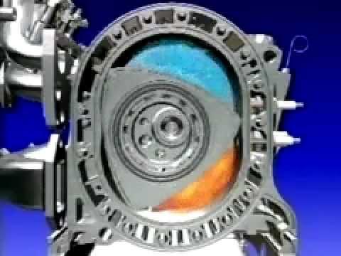 motor rotativo-wankel en mazda rx-8 - youtube