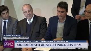 Córdoba se suma a la medida de eliminar los impuestos a sellos para compra 0km