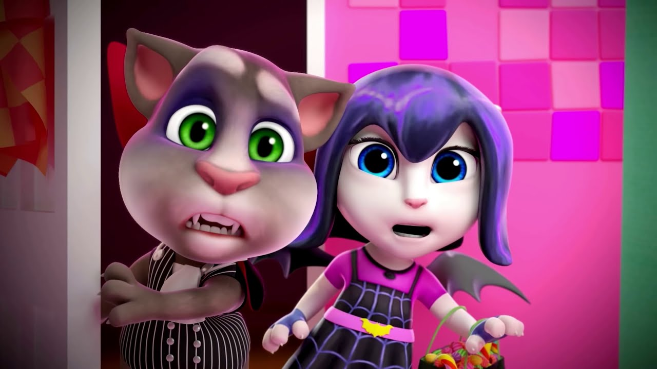 Download 😱 Haunted House 🎃 (HALLOWEEN Special) - Talking Tom Shorts 47