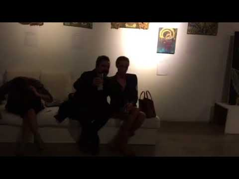 B12 exhibition music show art painting ibiza #4