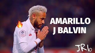 Neymar Jr 2020 ● J Balvin - Amarillo ● Skills & Goals