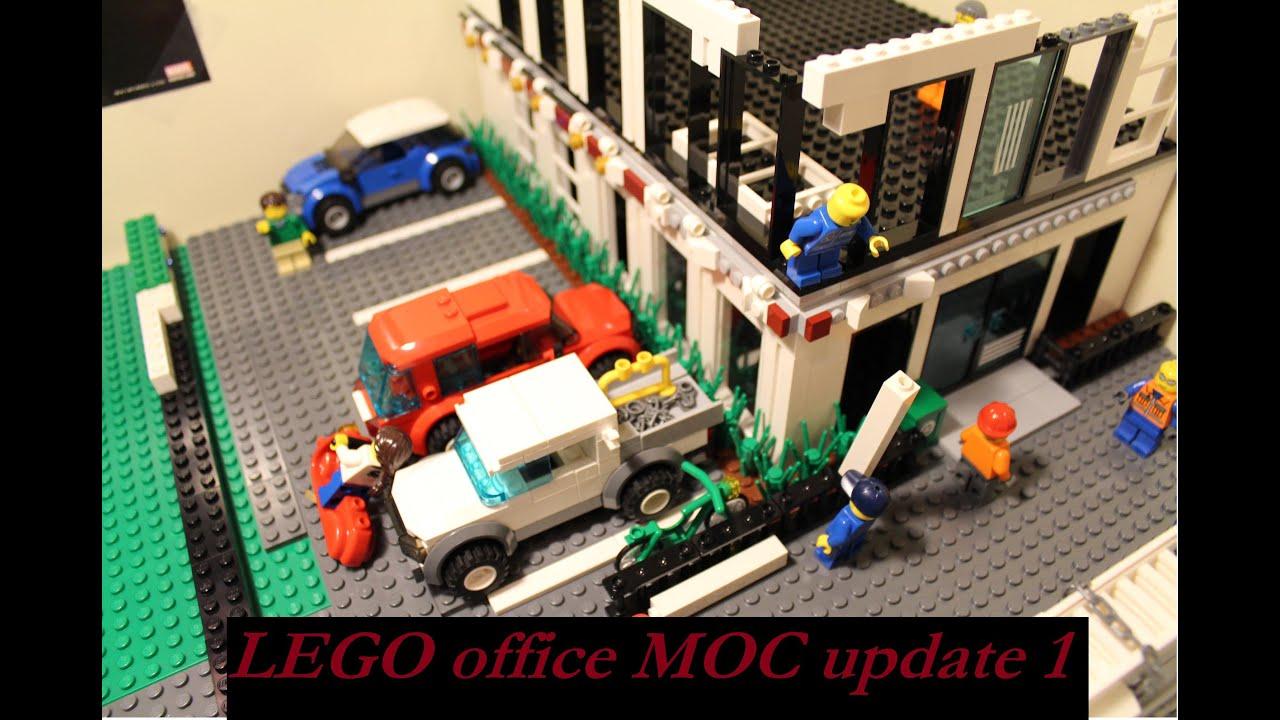 lego office building. LEGO Office Building MOC Update 1 Lego P