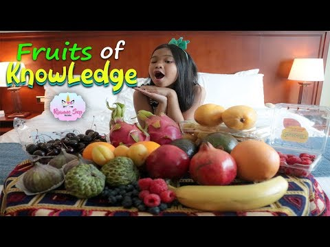 Healthy Food for Kids | Eating Fruits | Nutrition Facts for Children