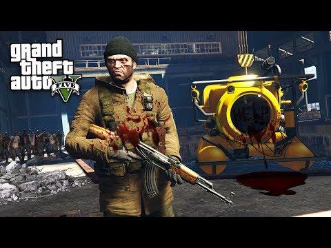 GTA 5 Zombie Apocalypse Mod #13 - SECRET MILITARY BASE!! (GTA 5 Mods)