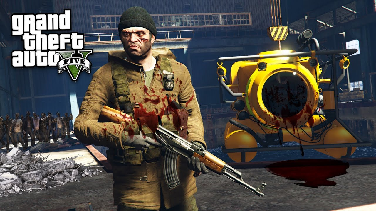Gta  Zombie Apocalypse Mod  Secret Military Base Gta  Mods