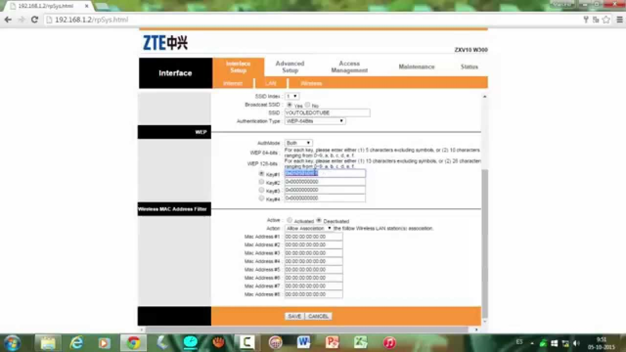 Ampliar Señal WiFi ZTE ZXV10 W300 modo bridge