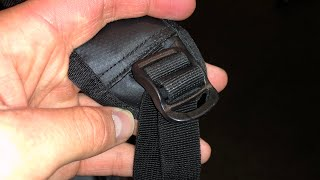 Adjusting Backpack Strap Sound Effect 2