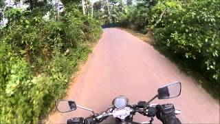 Sri Lanka Motorbike Hikkaduwa Jungle Side