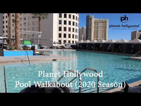 Planet Hollywood Pool Walkabout