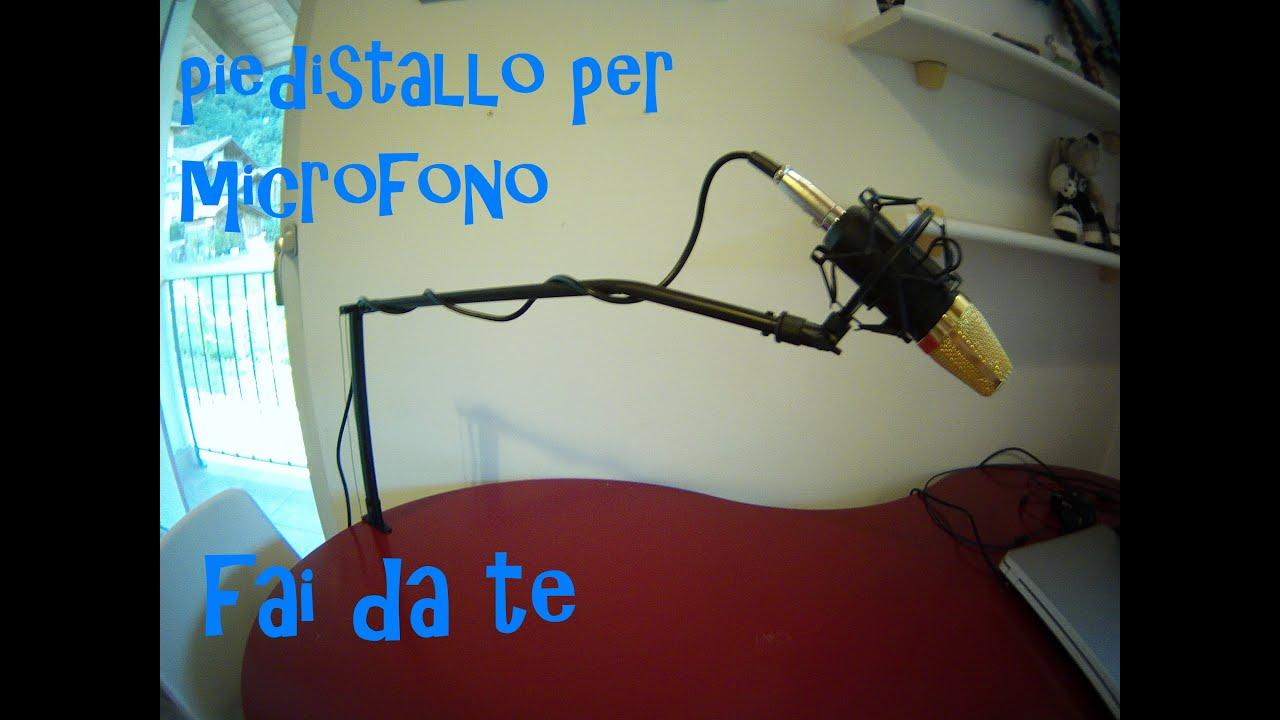 Piedistallo per microfono fai da te youtube - Portaombrelli fai da te ...