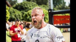 Jiří Tkadlčík - Nejsilnější Muž Světa u105kg 2018  [Motivace]