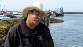 Fisherman Describes Attempt To Outrun Tsunami - Crescent City, CA