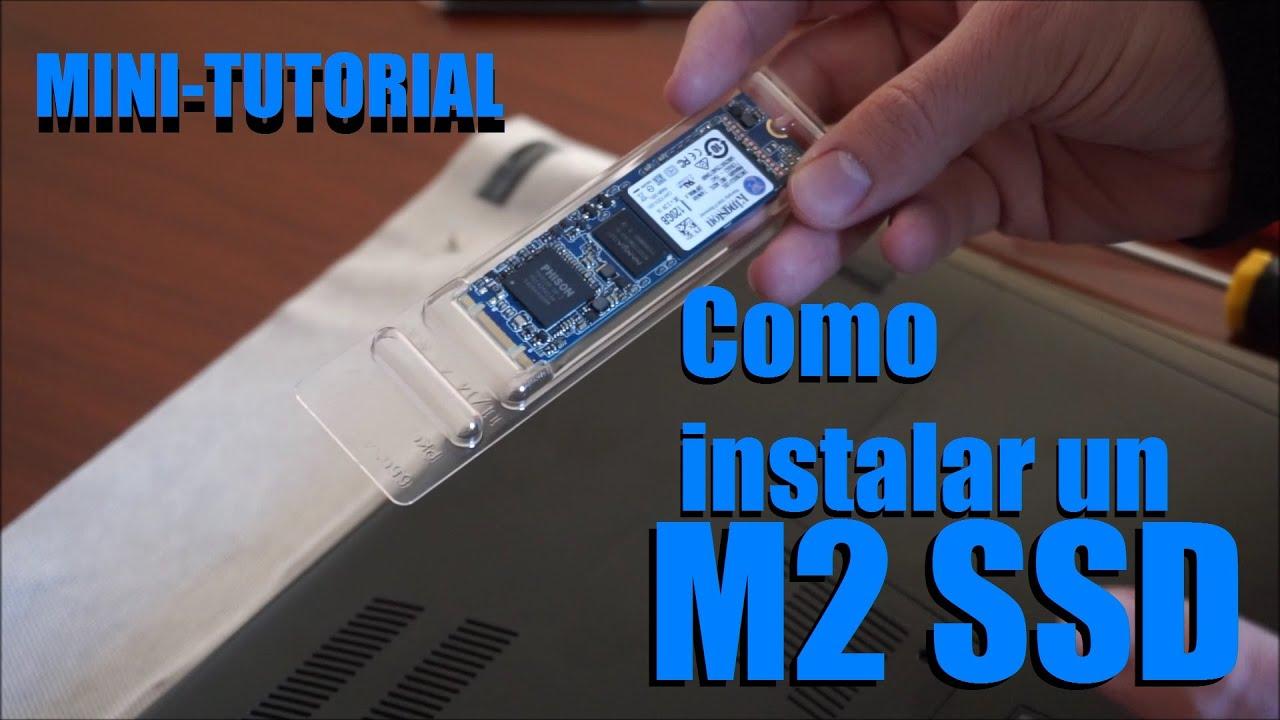 Como instalar un m2 ssd en un port til youtube for Como poner un vivero