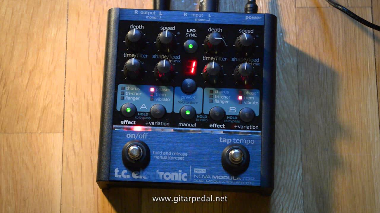 Amazon. Com: tc electronic nm-1 nova modulator guitar pedal.