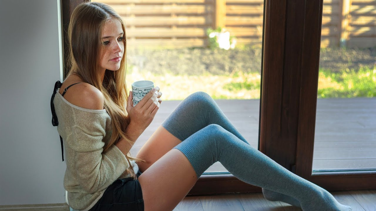 Young girls in socks non nude pics