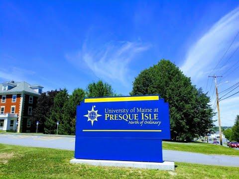 University of Maine at Presque Isle, Presque Isle, Maine || ASMR HD