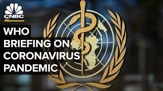 World Health Organization holds a briefing on the coronavirus outbreak – 3/27/2020