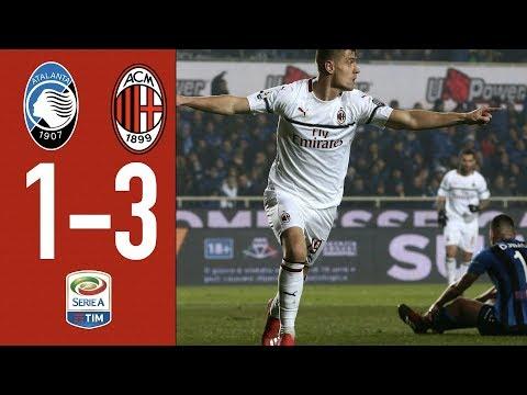 Highlights Atalanta 1-3 AC Milan - Matchday 24 Serie A TIM 2018/19