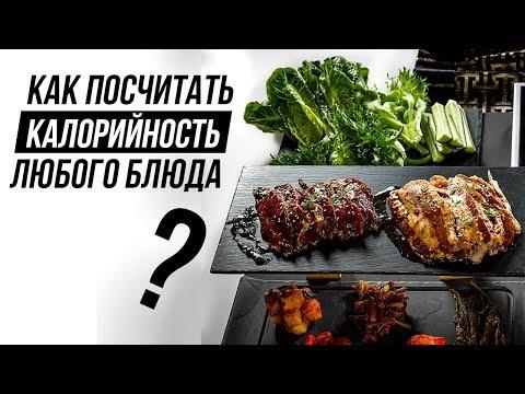 Как считать БЖУ готовых блюд? (Калорийность и БЖУ Продуктов)