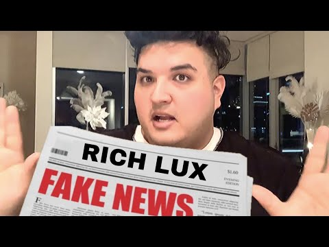 A RICH LUX FAKE STORY? | The Beauty Guru Show