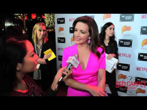 Kristin Davis #GardenersOfEden at the 31st Annual IDA Documentary Awards Gala #Interviews #IDAawards