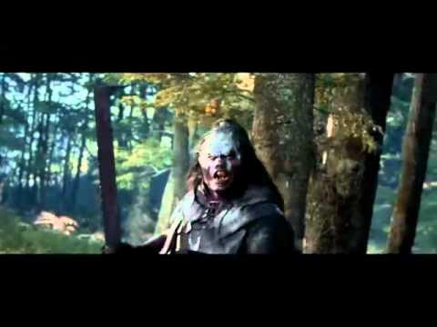 Lurtz vs Aragorn en amon hen