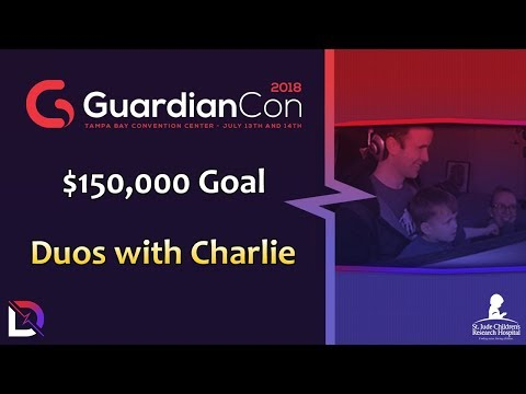 Fortnite - $150k Goal Duos with Charlie - GuardianCon | DrLupo