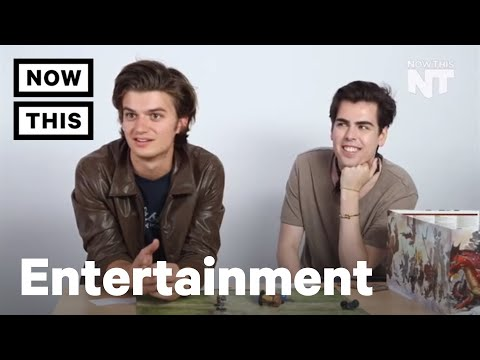 Playing Dungeons and Dragons with Stranger Things star Joe Keery | NowThis