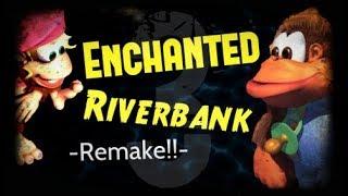 Donkey Kong Country 3 Enchanted Riverbank Remake