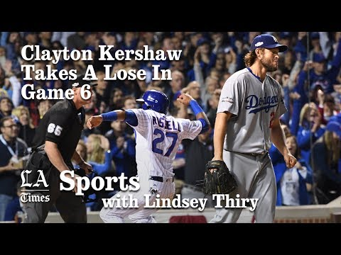 Dodgers NLCS: Clayton Kershaw takes loss in Game 6