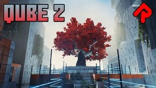 QUBE 2 gameplay: Escape a Nightmarish Tower of Cubes! (First-Person Puzzle PC Game)