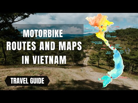 Motorbike Routes and Maps in Vietnam