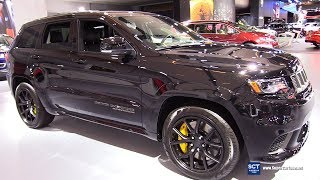 2018 Jeep Grand Cherokee Trackhawk - Exterior and Interior Walkaround - 2018 Montreal Auto Show