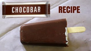 Choco Bar Ice cream Recipe | Without Ice cream maker | Without Egg
