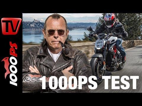 1000PS Test - MV Agusta Brutale 800 RR 2018 - fantastische Verbesserungen