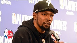 Kevin Durant on 50-point night: Felt like I could've made more shots | 2019 NBA Playoffs