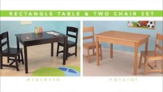 Kidkraft Rectangle Table And Chair Set In Canada