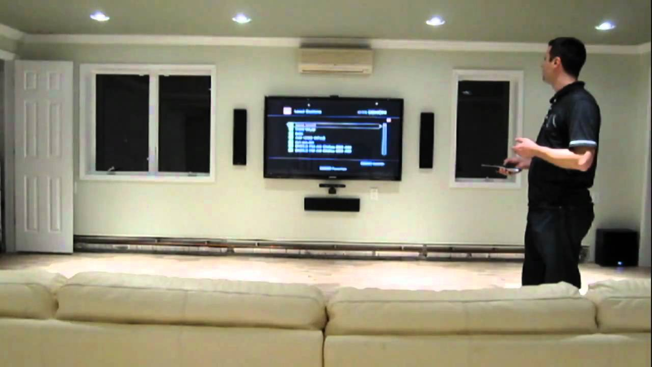 Home Theater Wiring Installation