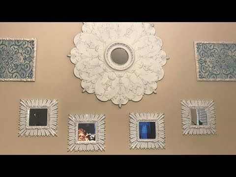 Dollar Tree Diy | Picture Frame Wall Art