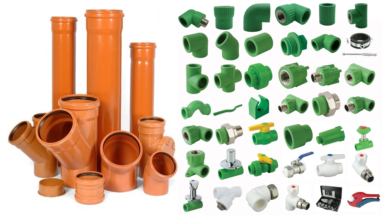 ppr pipe fittings, pvc pipe fittings, hdpe pipe fittings