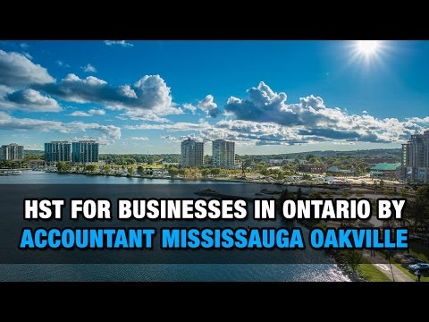 HST For Businesses In Ontario By Accountant Mississauga Oakville