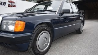 Cəmi 13000 km getmiş 190 Mercedes-Benz 2.0 motor mexanika