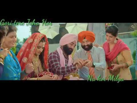 Gori Tere Jaisa Na Koi Mileya Punjabi Song Status