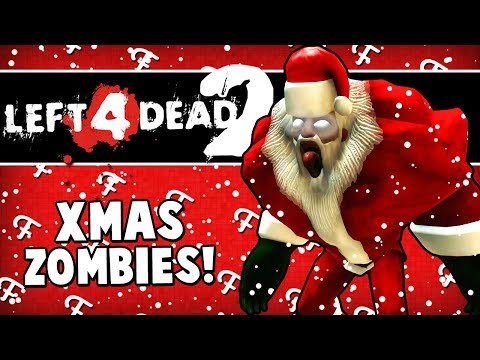 L4D2 Christmas Edition: Infected Elves & Gingerbread Men Zombies! (Left 4 Dead 2 - Comedy Gaming)