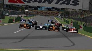 Формула-1 2002. 1 этап - Гран при Австралии(Обзор 1 этапа чемпионата Ф1 2002 на сайте Гонки.МЕ http://Gonki.ME Гоняйся в удовольствие, проводи чемпионаты и зараба..., 2016-04-03T12:54:52.000Z)