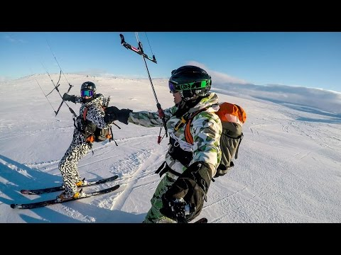 THE BEST OF NORSKO 2015 SNOWKITING