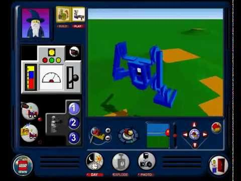 Lego Creator (PC Game) - Walkers & Mechs - YouTube